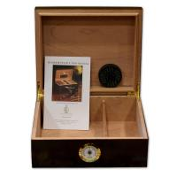 SLIGHT SECONDS - Statesman Cherry Cigar Humidor - 40 Capacity