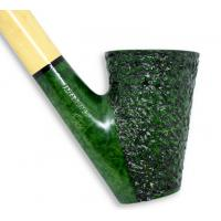 Caminetto Wood Flock Green Rustic Fishtail Pipe (CA002)