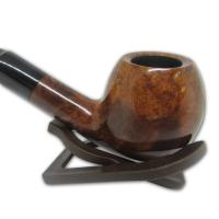 Viking Classic Waxed Smooth Apple Full Bent Pipe