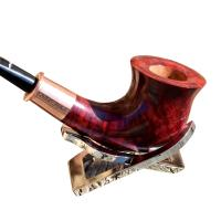 Caminetto Event 2013 - 1968 Red Grain Fishtail Pipe (CA004)