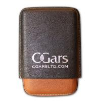 C.Gars Two Tone Leather Cigar Case Seco –  Three Cigar Case - Best Seller