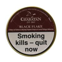 Charatan Black Flake Pipe Tobacco 50g Tin (Dunhill Dark Flake)