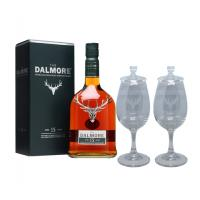 Dalmore 15 Year Old + Two Whisky Glasses Sharing Set Gift Pack