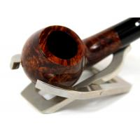 Alfred Dunhill Pipe – The White Spot Amber Root Group 2 Bent Pipe (DUN07)