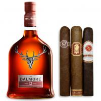 Dalmore 12 Year Old Whisky + Sun Grown Cigars Pairing Sampler