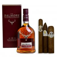 Dalmore 12 Year Old Single Malt Scotch Whisky + New World Cigar Pairing