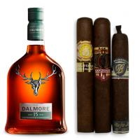 Dalmore 15 Year Old Single Malt Scotch Whisky + Cigar Pairing Sampler