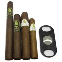 Davidoff Selection Sampler and Humi Pouch Sampler - 4 Cigars