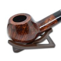 Alfred Dunhill Pipe – The White Spot Amber Root Group 5 Bent Pipe (5128)