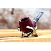 Alfred Dunhill Pipe – The White Spot Ruby Bark Group 4 Apple Pipe (4201)