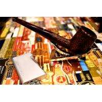 Alfred Dunhill Pipe – The White Spot Cumberland Pipe Straight Billiard (3103)