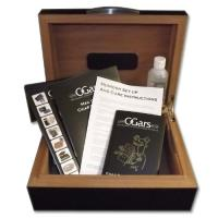Dunhill White Spot Humidor - Grey Oak - 50 Cigar Capacity