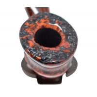 Erik Nording Freehand Orange Grain Pipe (EN014)
