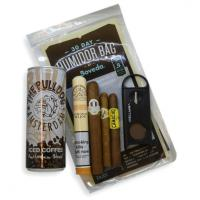 The Early Morning Pick me Up Sampler - 4 Cigars & Iced Coffee - CHRISTMAS GIFT