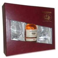 Edradour 10 Year Old - 20cl gift set with 2 glasses