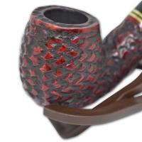 Peterson Emerald Rustic Bent Fishtail Pipe - 221 (G1212)