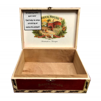 Empty Brick House Robusto Cigar Box