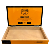 Empty Camacho Connecticut Robusto Tubos Box - Orange