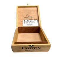 Empty Charatan Panatellas Cigar Box