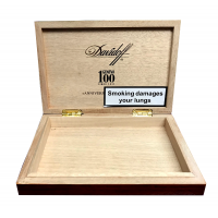 Empty Davidoff Geneva 100 Cigar Box