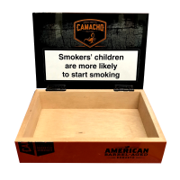 Empty Camacho Barrel Aged Cigar Box