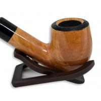 Peterson Clontarf Natural Briar Smooth Bent 069 Fishtail Pipe (G1156)