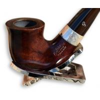 Peterson Harp Briar Silver Mounted 05 Pipe (PE312)