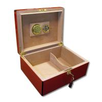 SALE - SLIGHT SECONDS - The Revolution Cigar Humidor - Red - 50 Cigar Capacity