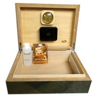 SALE - SLIGHT SECONDS - Humidif Grey Humidor - 50 Cigar Capacity