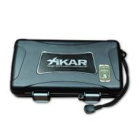 Inka Red Petit Corona and Xikar Travel Waterproof Case Sampler