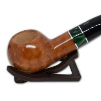 Savinelli Impero 321 Smooth Semi Bent 6mm Pipe (SAV27)