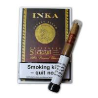 Inka Secret Blend - Red Cristales Tubed Cigar - Pack of 5 cigars