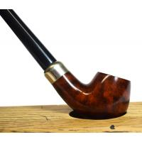 Jean Claude Smooth 9mm Filter Churchwarden Fishtail Pipe (JC014)