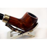 Jean Claude Semi Curved Brown Churchwarden Pipe (JC02)