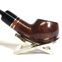 Jemar Principe Albert Cavalier 9mm Filter Smooth Bent Fishtail Pipe (JM121)