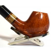 Jemar Principe Albert Zembrano Natural 9mm Filter Bent Fishtail Pipe (JM179)