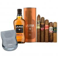 Exclusive - Jura 10 Year Old + New World Cigar Selection Pairing