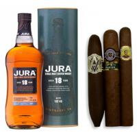 Jura 18 Year Old Single Malt Scotch Whisky + Bold Cigars Pairing Sampler