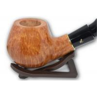Lorenzetti Italy Smooth Light Brown Apple Bent Pipe (LZ10)