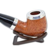 Peterson Silver Cap Silver Mounted Natural - XL90 (Fishtail)