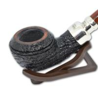 Peterson Newgrange Spigot Silver Mounted Pipe - 999 (G1016)