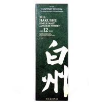 Hakushu 12 Year Old Single Japanese Malt Whisky - 70cl 43%