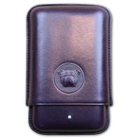 Dunhill Bulldog Cigar Case Robusto - Purple - Fits 3 Cigars