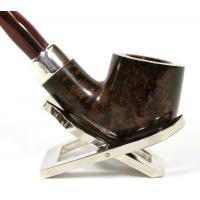 Peterson Ashford Silver Mounted 001 Fishtail Pipe (PE048)