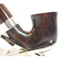 Peterson Harp 05 Cumberland Bent Silver Mounted Fishtail Pipe (PE1027)