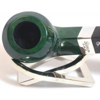 Peterson Racing Green 80S Silver Mounted Fishtail Pipe (PE1030)