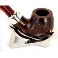 Peterson Orange Army 221 Silver Mounted Fishtail Pipe (PE106)