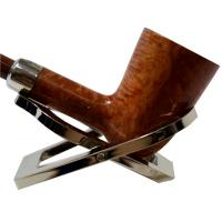 Peterson Short Classic D17 Natural Silver Mounted Fishtail Pipe (PE221)
