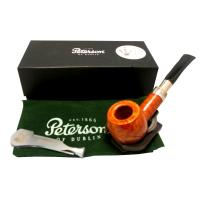 Peterson Natural Spigot 408 Silver Mounted Fishtail Pipe (PE476)