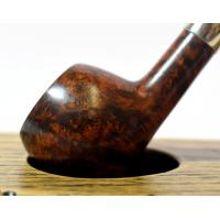 Peterson Churchwarden Prince Smooth Nickel Mounted Fishtail Pipe (PEC110)